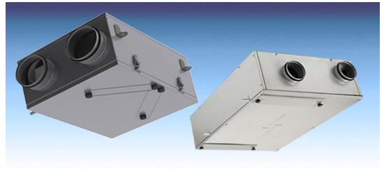Компактные вентиляционные установки - сухие окна