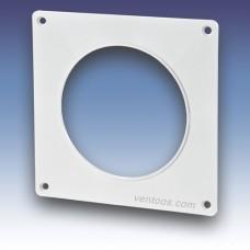 Пластина настенная для круглых каналов  Пластивент 25