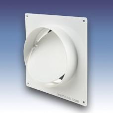 Пластина настенная для круглых каналов  Пластивент 2521