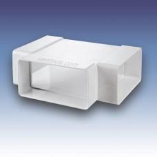 Тройник для плоских каналов  Пластивент 535