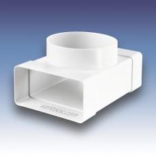 Тройник для плоских и круглых каналов  Пластивент 531