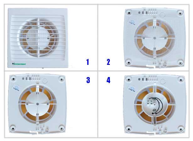Подключение вентилятора Домовент С