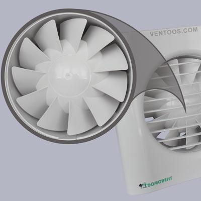 Аэродинамическая крыльчатка Домовент Тиша