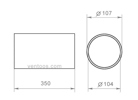 Пластивент 10035/2