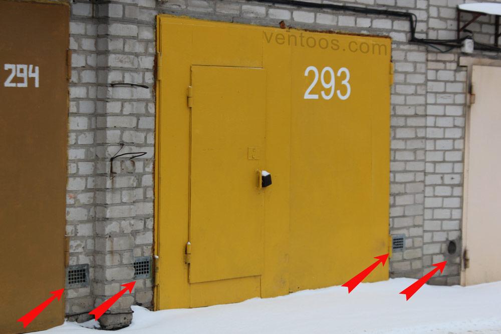 Решетка для притока в гараже