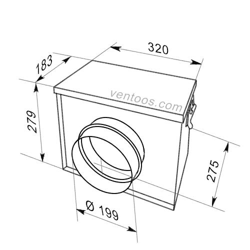 ФБ 200 - размеры