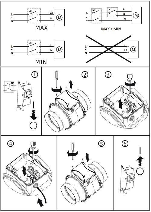 Электрическая схема и подключение