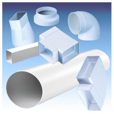 Воздуховод из ПВХ-пластика